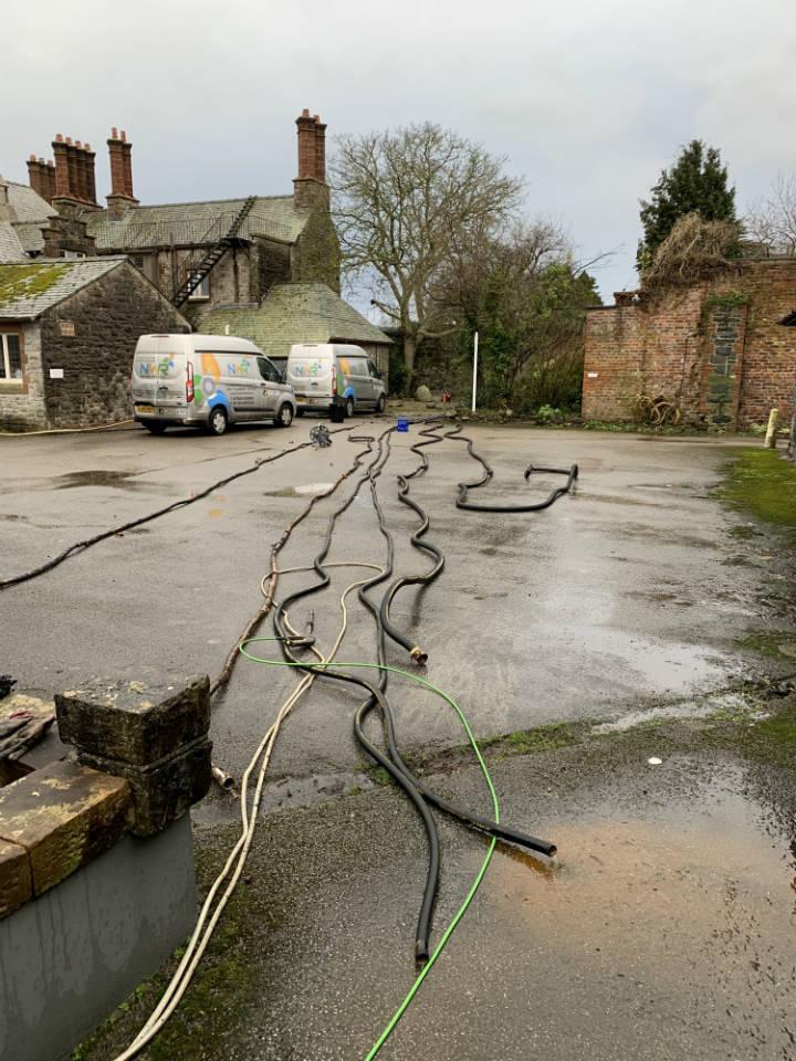 NWR Boiler Hire UK - Decommissioning temporary boiler